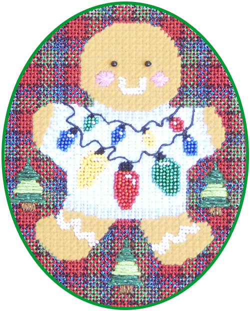 click here to view larger image of Ginger Lights Stitch Guide (books)
