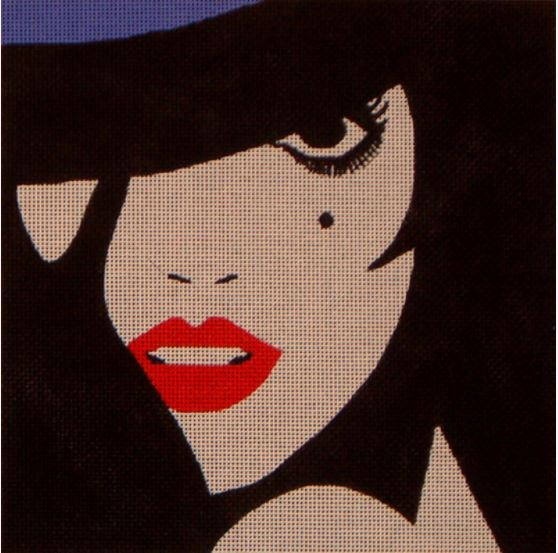 click here to view larger image of Liza (hand painted canvases)