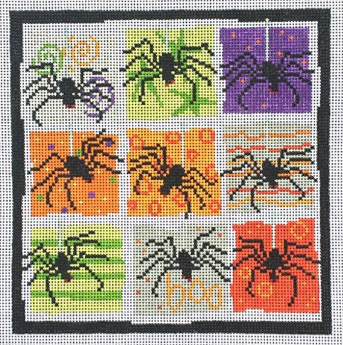 click here to view larger image of Spiders (hand painted canvases)