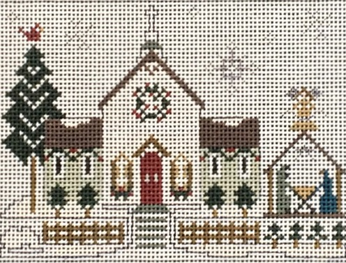 click here to view larger image of Town Church (hand painted canvases)