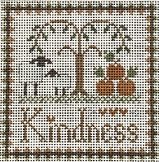 click here to view larger image of Kindness (hand painted canvases)