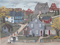 click here to view larger image of 3 Sister's Farms (hand painted canvases)