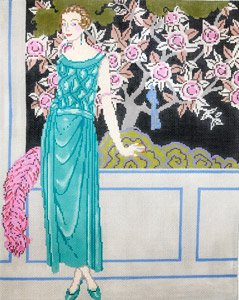 click here to view larger image of Art Deco Fantasia (hand painted canvases)