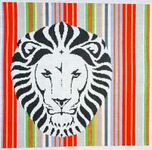 click here to view larger image of Lion (hand painted canvases)