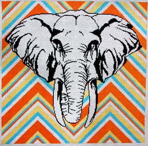 click here to view larger image of Elephant (hand painted canvases)