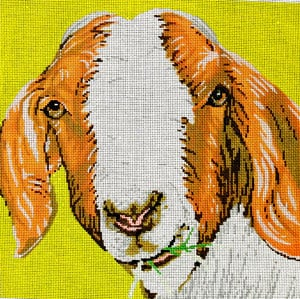 click here to view larger image of Goat (hand painted canvases)