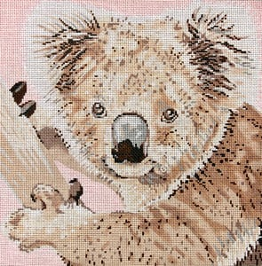click here to view larger image of Koala (hand painted canvases)