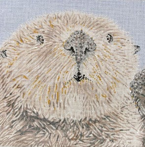 click here to view larger image of Otter (hand painted canvases)