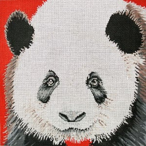 click here to view larger image of Panda (hand painted canvases)