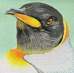 click here to view larger image of Penguin (hand painted canvases)