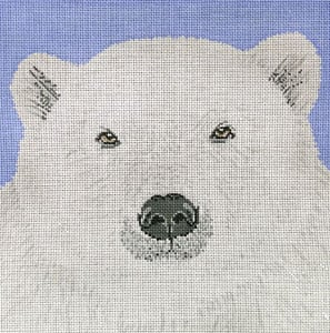 click here to view larger image of Polar Bear (hand painted canvases)