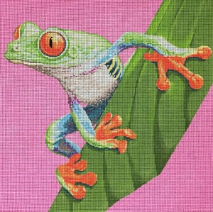 click here to view larger image of Tree Frog (hand painted canvases)