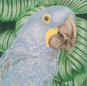 click here to view larger image of Parrot Hyacinth Macaw (hand painted canvases)