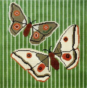 click here to view larger image of Butterfly Flight (hand painted canvases)