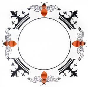 click here to view larger image of Crown Bee Monogram (None Selected)