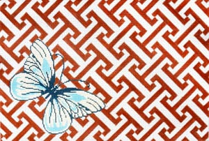 click here to view larger image of Farfalla (Butterfly) (hand painted canvases)