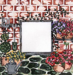 click here to view larger image of Flower Gardening (hand painted canvases)