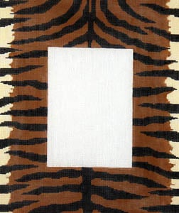 click here to view larger image of Tiger Skin (hand painted canvases)