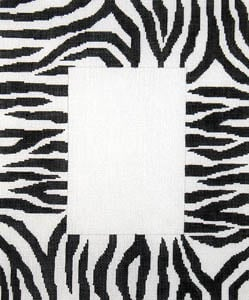 click here to view larger image of Zebra Skin (hand painted canvases)