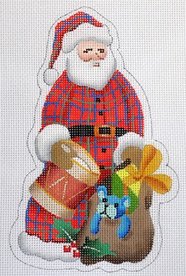 click here to view larger image of Santa (hand painted canvases)