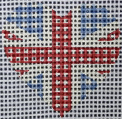 click here to view larger image of Union Jack Heart (hand painted canvases)