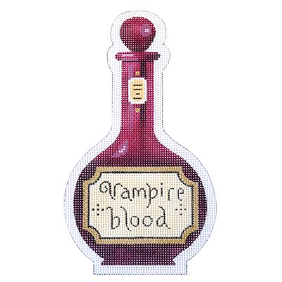 click here to view larger image of Vampire Blood Halloween Bottle - 18 Count (hand painted canvases)