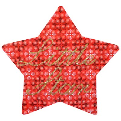 click here to view larger image of Little Star (hand painted canvases)