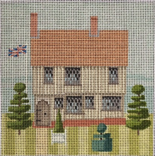 click here to view larger image of Little Britain - Tudor Home (hand painted canvases)