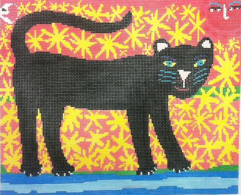 Black Panther hand painted canvases