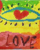 click here to view larger image of First Sight Love (hand painted canvases)