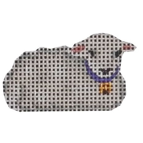 click here to view larger image of Advent Sheep #3 (hand painted canvases)