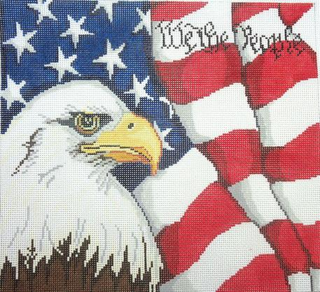 click here to view larger image of We The People (hand painted canvases)