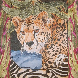 click here to view larger image of Cheetah (hand painted canvases)