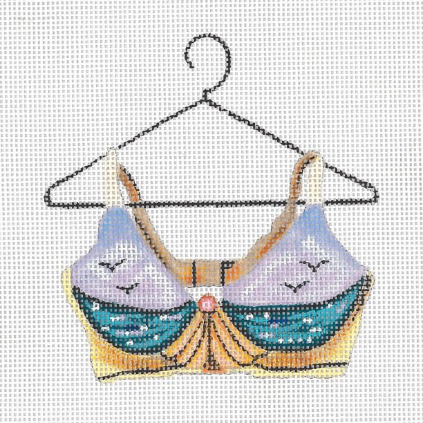 click here to view larger image of Sea Cup Bra (hand painted canvases)