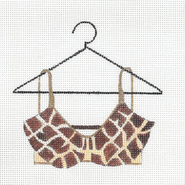 click here to view larger image of Giraffe Bra (hand painted canvases)