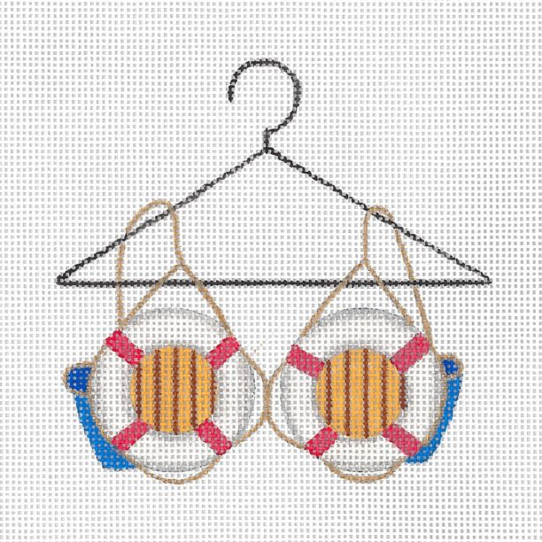 click here to view larger image of Cruising Bra (hand painted canvases)
