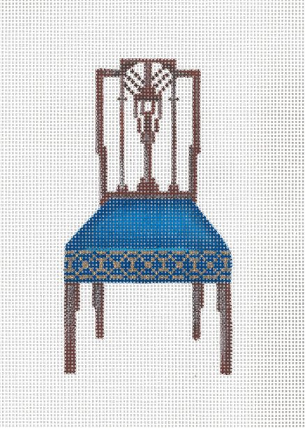 click here to view larger image of Sheraton Chair (hand painted canvases)
