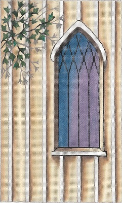 click here to view larger image of Saint Peter's Window (hand painted canvases)