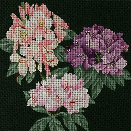 click here to view larger image of Giant Rhododendron (hand painted canvases)