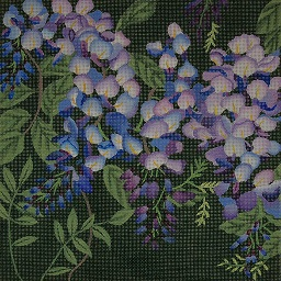 click here to view larger image of Giant Wisteria (hand painted canvases)