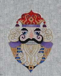 click here to view larger image of Nutcracker - King (hand painted canvases)