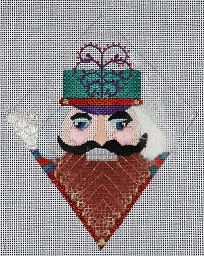 click here to view larger image of Nutcracker - Guard (hand painted canvases)