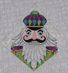click here to view larger image of Nutcracker - Warrior (hand painted canvases)
