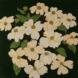 click here to view larger image of Giant Dogwoods (hand painted canvases)