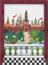 click here to view larger image of Windows On The World - Kremlin (hand painted canvases)