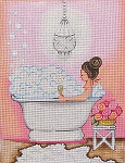 click here to view larger image of Bubble Bath (hand painted canvases)