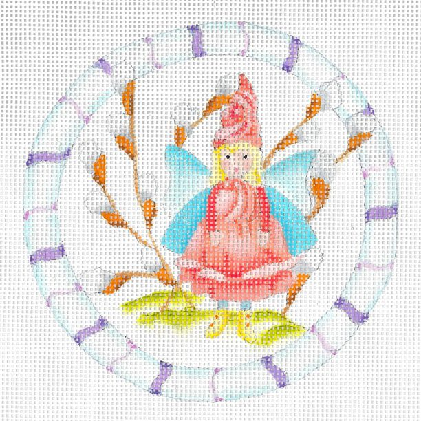 click here to view larger image of Forest Rose Fairy (hand painted canvases)