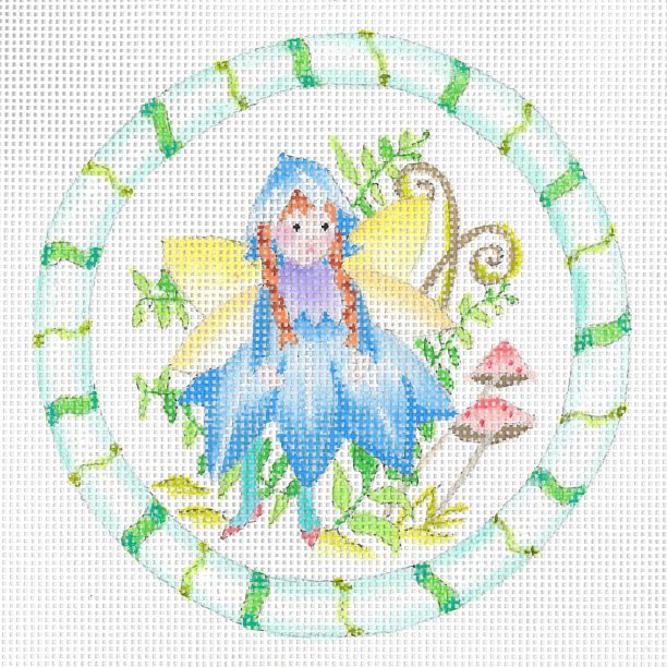 click here to view larger image of Forest Bluebell Fairy (hand painted canvases)