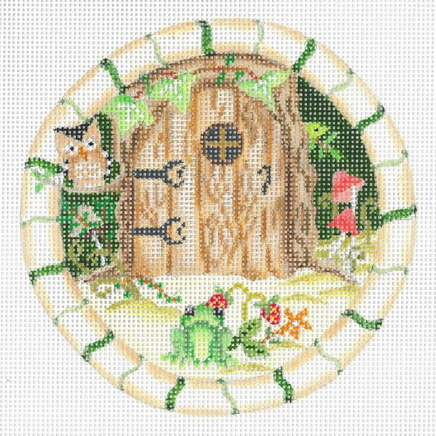 click here to view larger image of Forest Fairy Dwelling (hand painted canvases)
