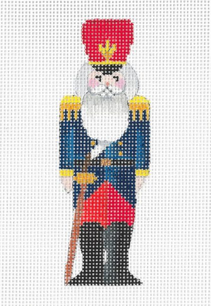 click here to view larger image of Mini Nutcracker - Sweetheart (hand painted canvases)